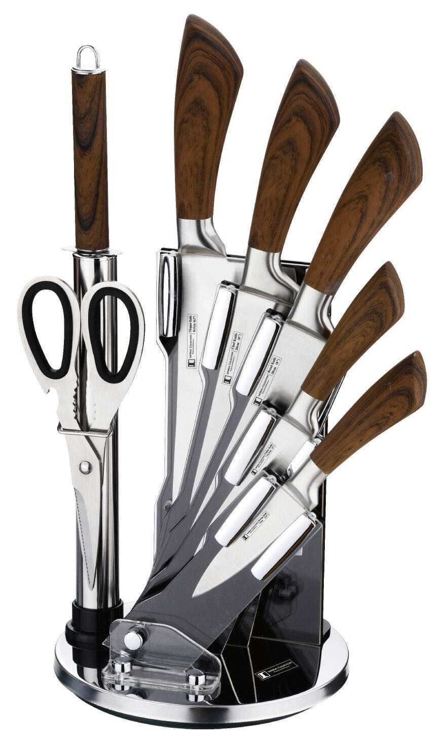 Imperial Collection Im Kst18 Non Stick Coating Knife Set