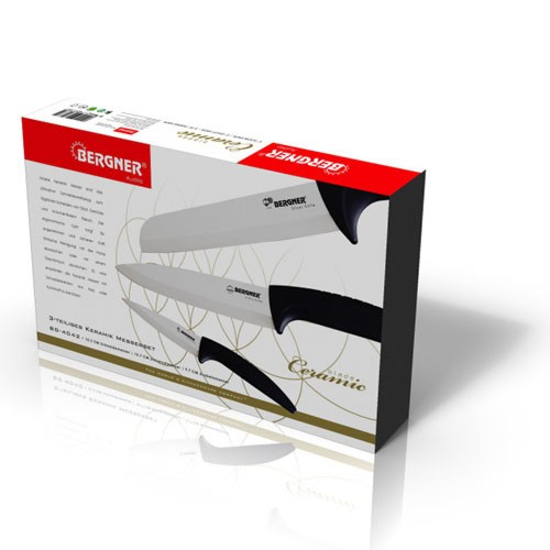 Bergner bg 4042 set de couteaux en c ramique 3pcs bergner - Set de cuchillos bergner ...