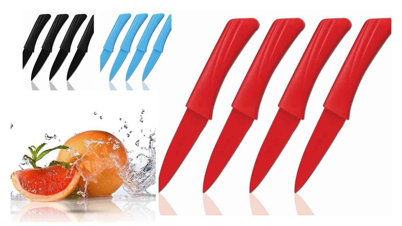 Cenocco cc 9009 4pcs cuchillos de fruta azul mayorista - Cuchillos para decorar fruta ...