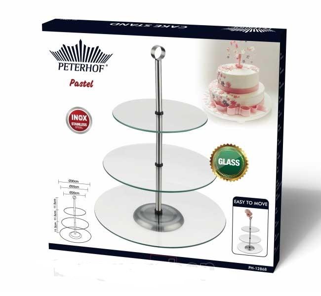 Peterhof ph 12868 support pour le dessert destockage grossiste for Ustensiles de cuisine belgique