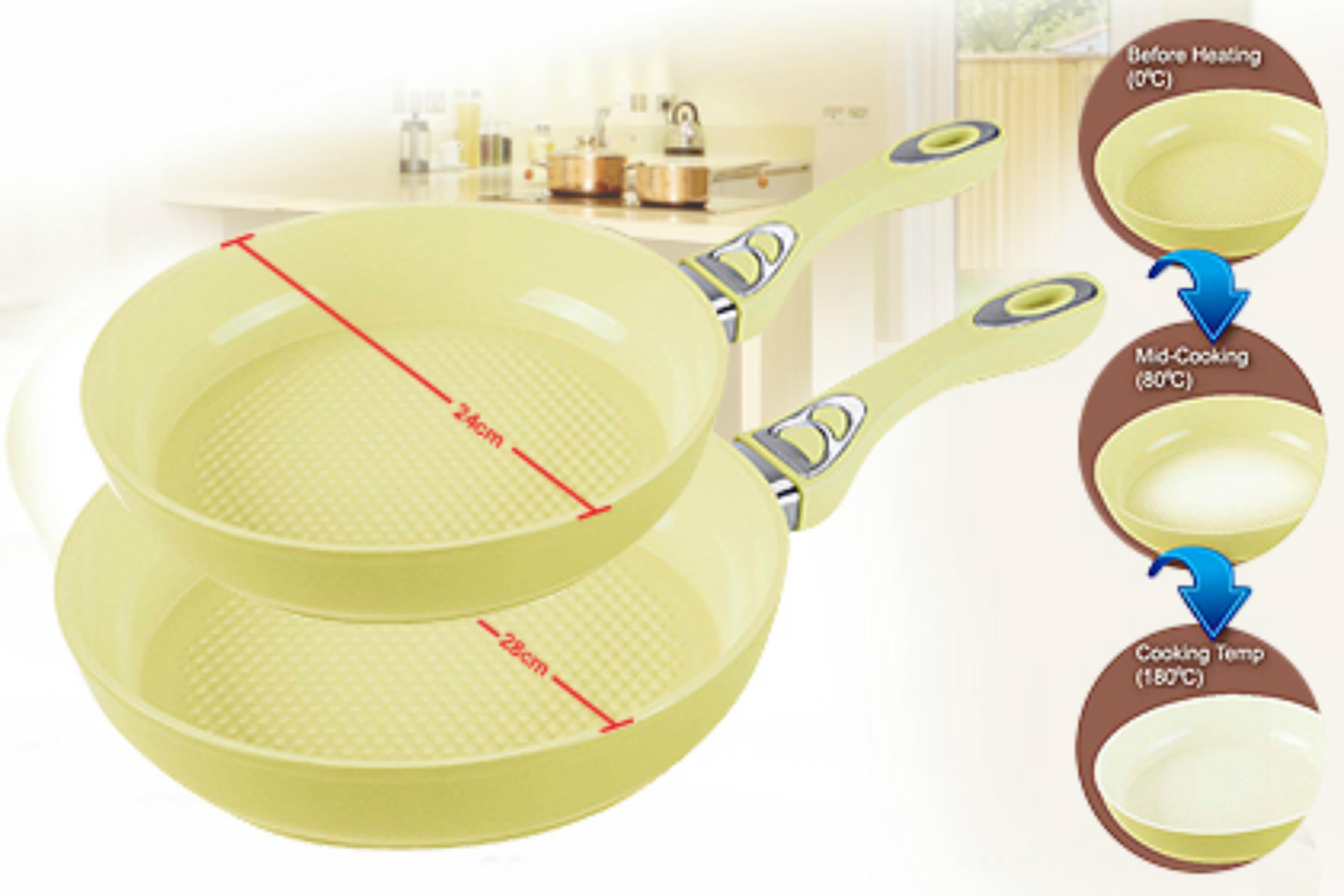 Royalty line rl cc24f po le en rev tement de c ramique 24cm thermo color for Ustensiles de cuisine belgique
