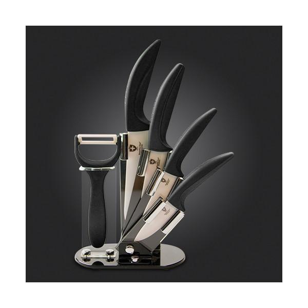 Royalty line rl c4st ensemble des couteaux en c ramique 6pcs destockage for Ustensiles de cuisine belgique