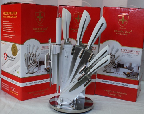Royalty line rl kss750 cuchillo set 8 piezas royalty line - Set de cuchillos royalty line ...
