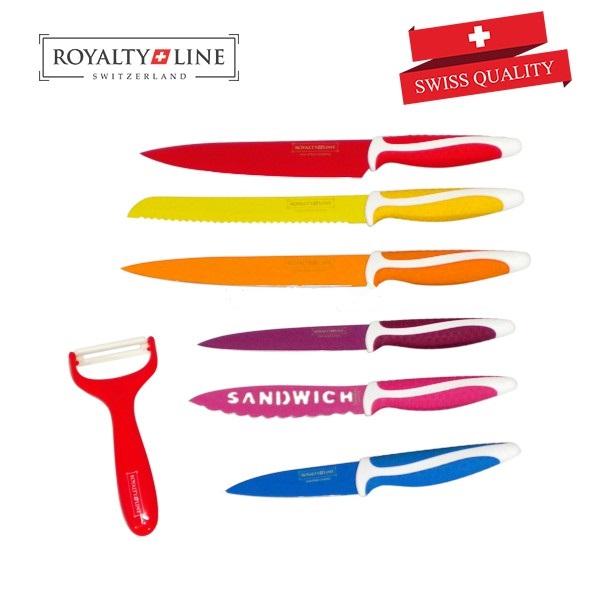 Royalty line rl col6 n set de couteaux 6pcs royalty line - Set de cuchillos royalty line ...