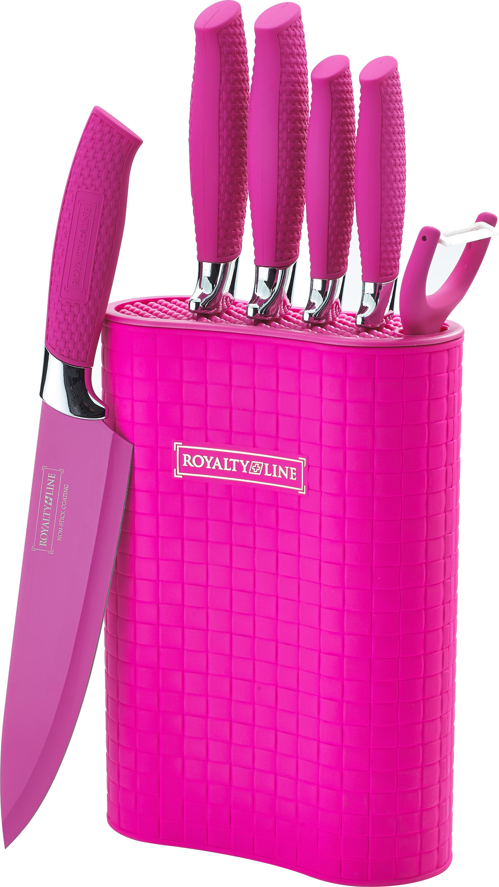 Royalty line rl 6mstk cuchillos con soporte 6pcs royalty - Como hacer soporte para cuchillos ...