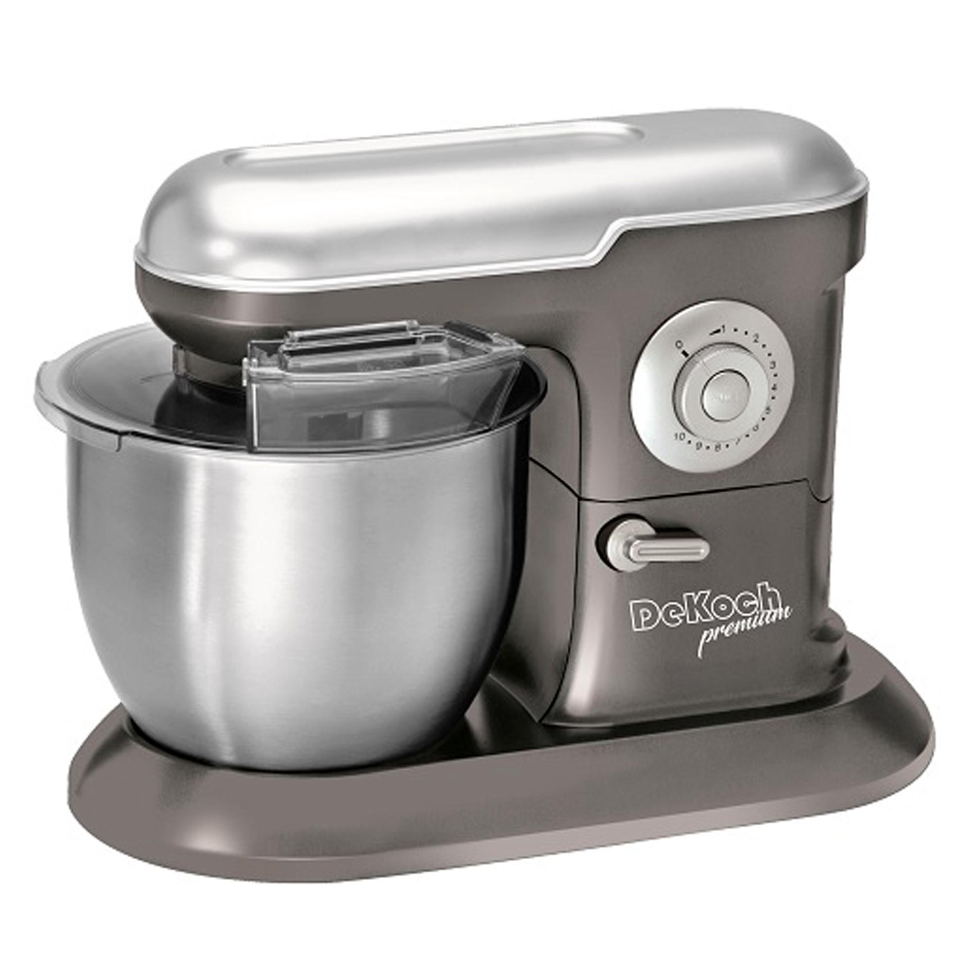 De Koch DK-KM650: Machine de Cuisine Argent