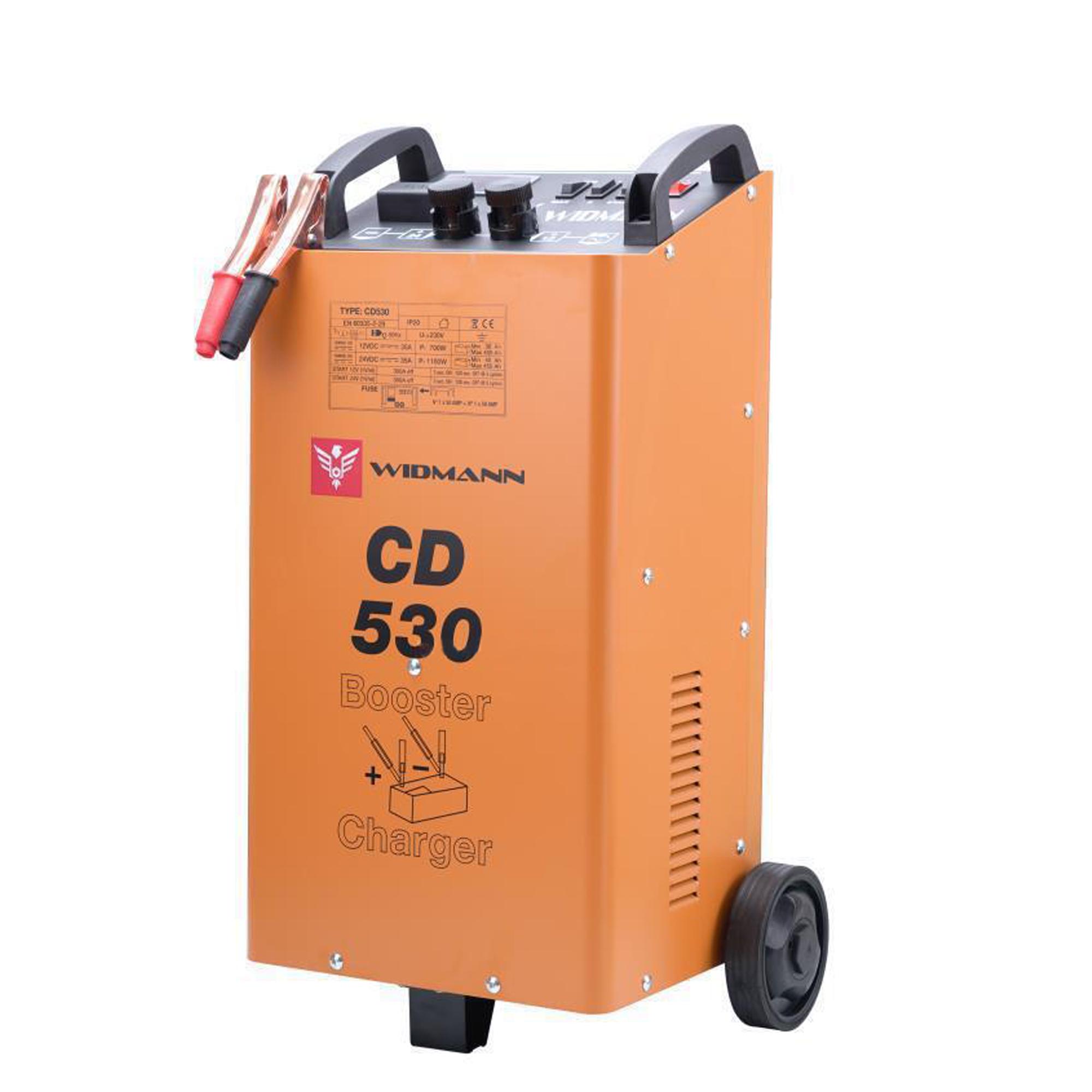 Widmann CD-530 : Chargeur et démarreur de batterie 12V/24V