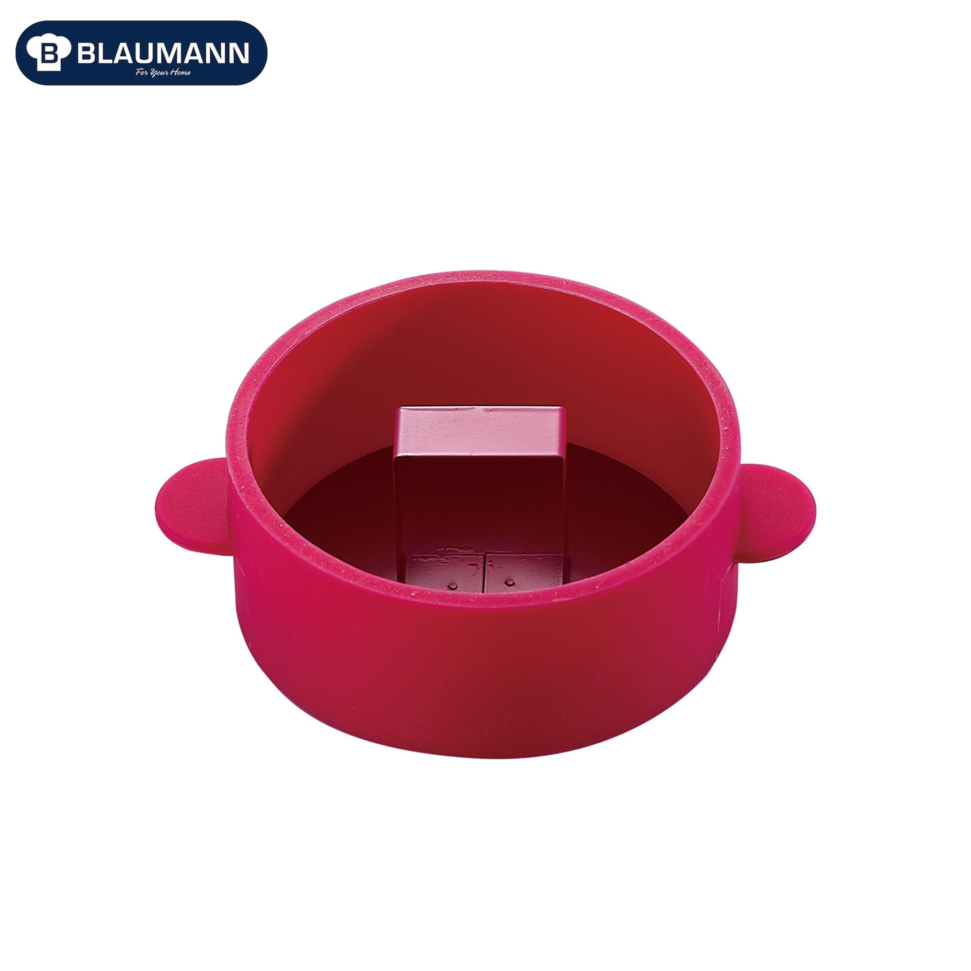 Blaumann BL-1196?: Pâtissie ravec poussoir en acier inoxydable Rouge