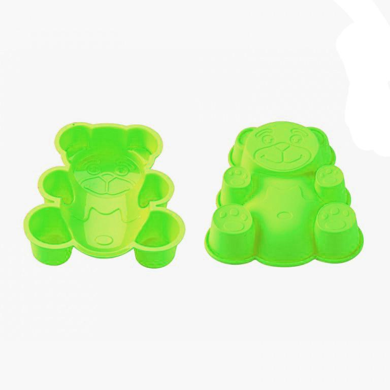 Blaumann BL-1274; Silicone moule à gâteau en forme d'ours Vert