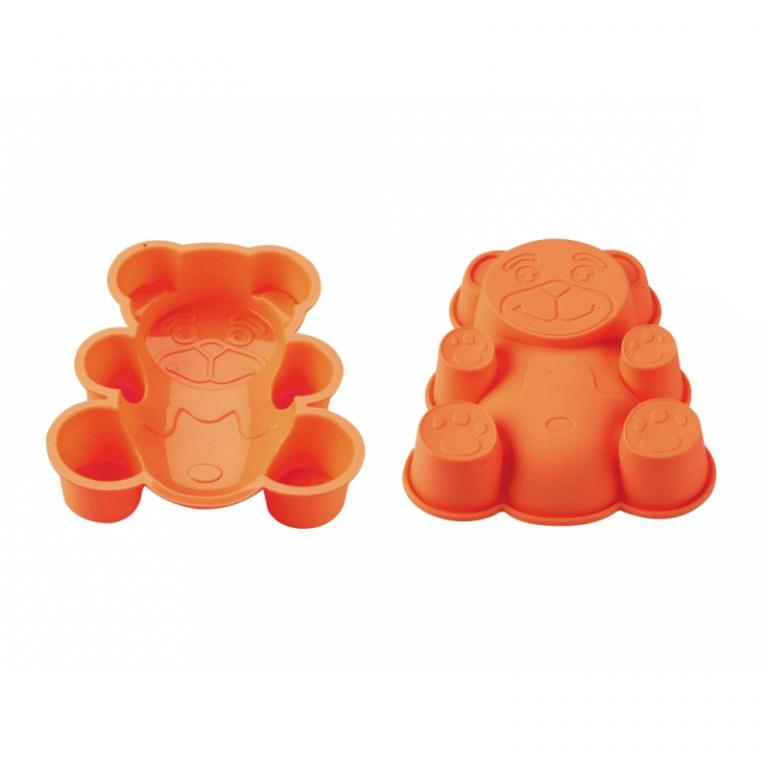 Blaumann BL-1274; Silicone moule à gâteau en forme d'ours Orange