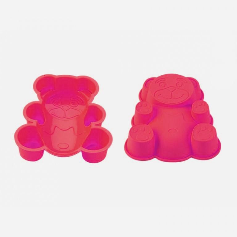 Blaumann BL-1274; Silicone moule à gâteau en forme d'ours Rose