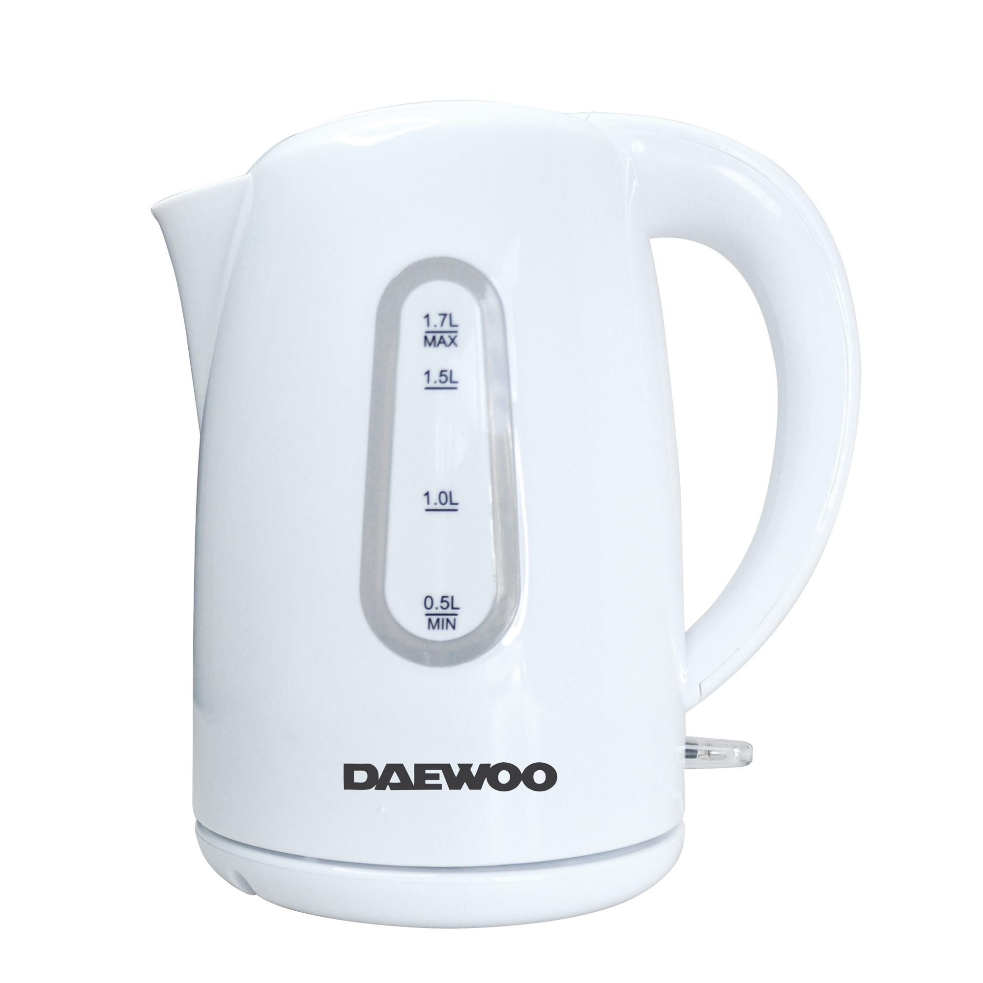 Daewoo SYM-1342: Bouilloire Electrique Sans Fil en Plastique Sans BPA