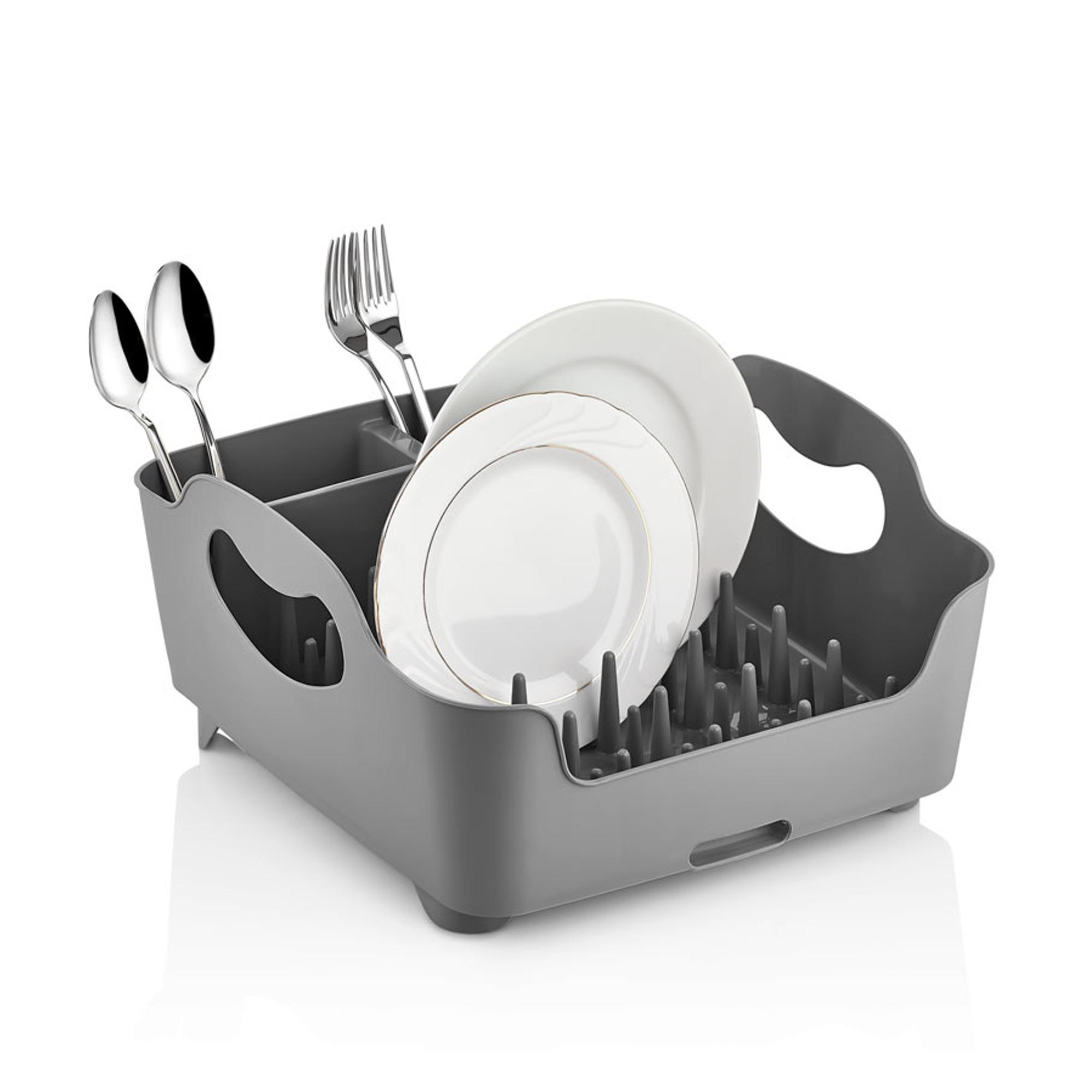 Herzberg HG-L689 : Egouttoir à vaisselle' Gris