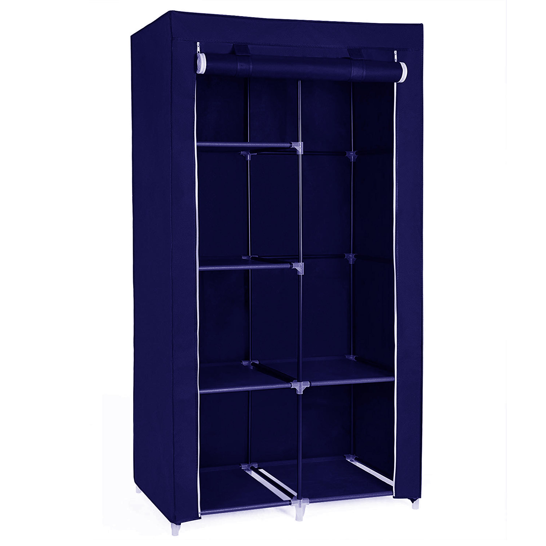 Herzberg HG-8010: Armoire de rangement - Petite Bleu