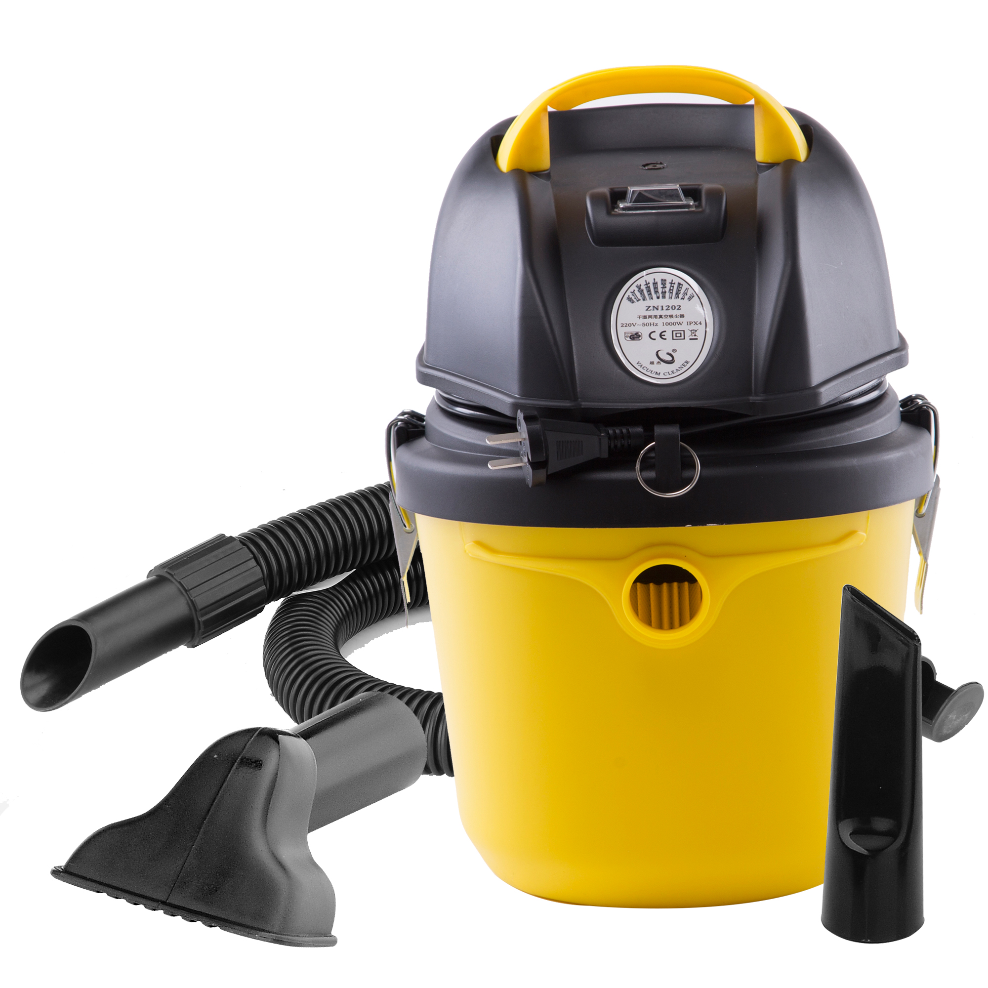 Herzberg HG-8020: Aspirateur eau et poussière 1200W