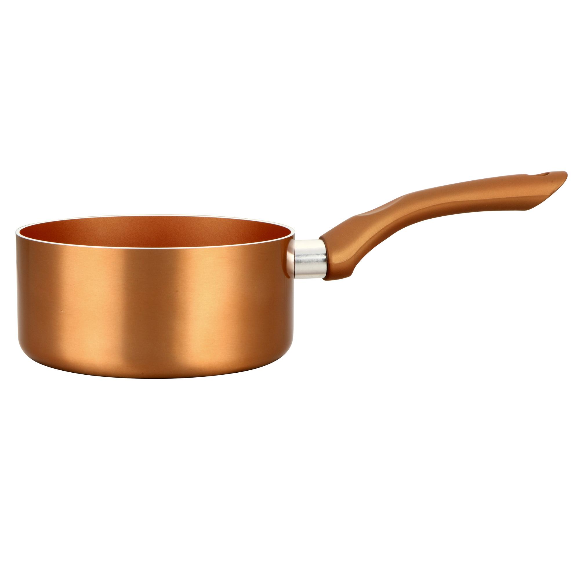 28/cm Oro Alluminio 3/Pezzi BERGNER Professional Chef Copper padelle