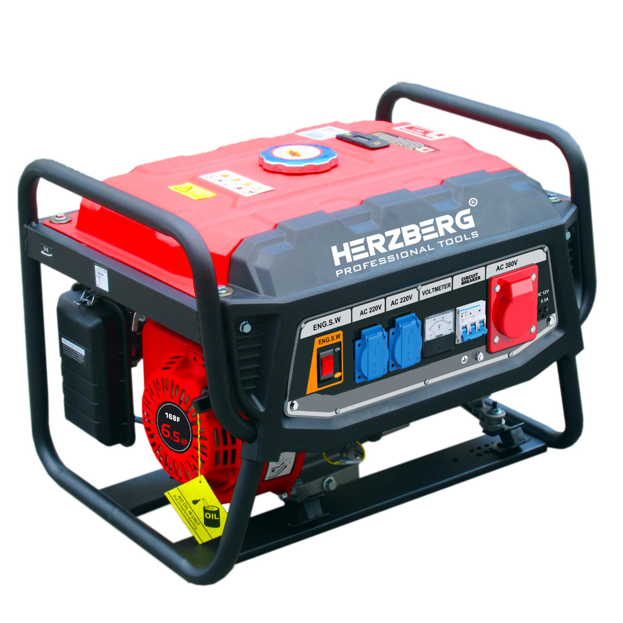 Herzberg HG-8500WX: Générateur D'essence Professionnel