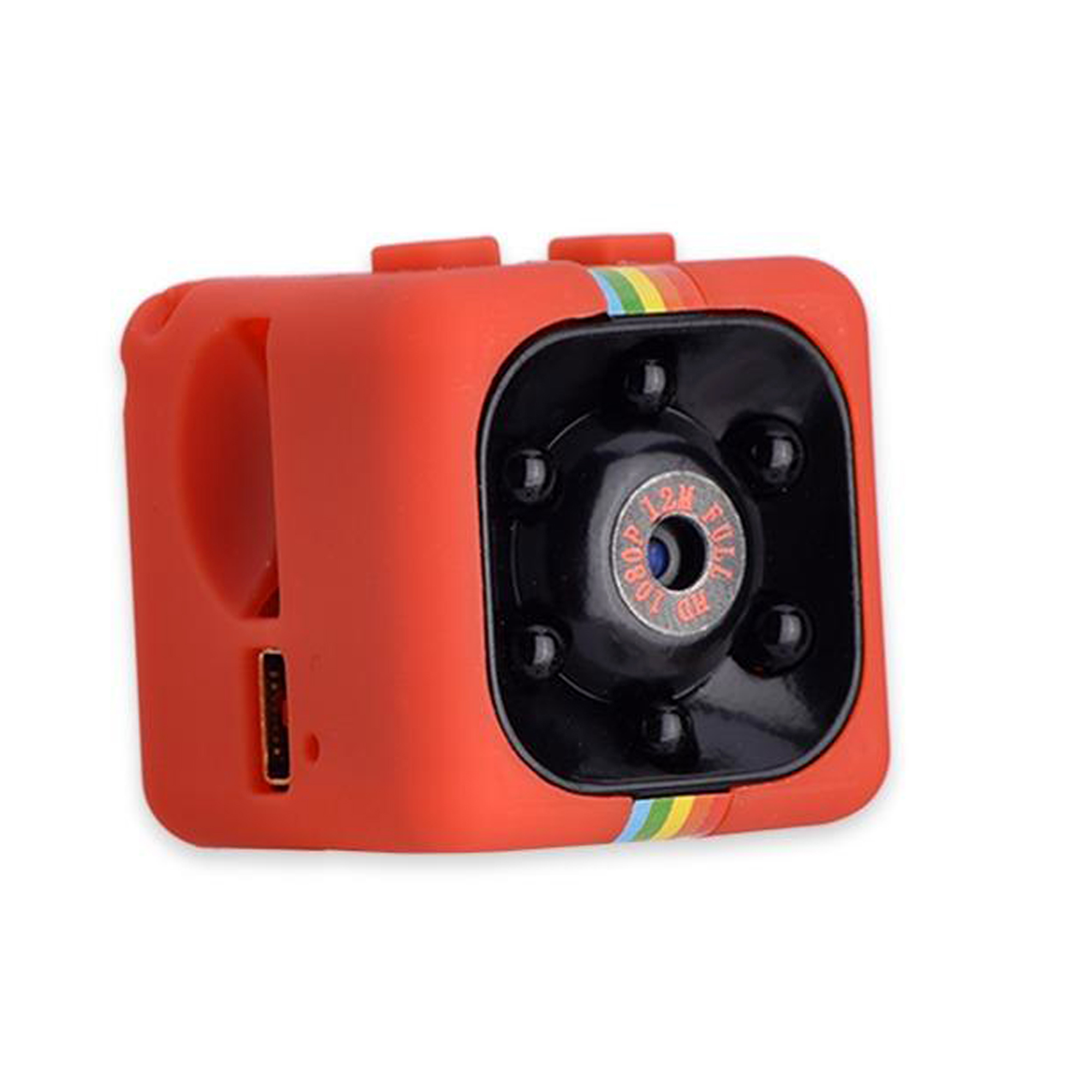 Cenocco CC-9047: Mini-Caméra HD1080P Rouge